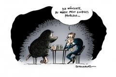 karikatur-schwarwel-maulwurf-krise-regierungskrise-verrat