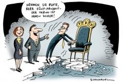 karikatur-schwarwel-thron-sicherheit-wahl
