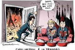 karikatur-schwarwel-sarkozy-merkel-gipeltreffen-eu