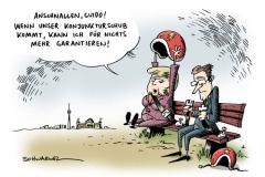 karikatur-schwarwel-merkel-westerwelle-fdp-cdu