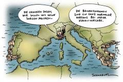 karikatur-schwarwel-china-mauer-baumaßnahmen-kredit
