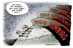 karikatur-schwarwel-talsohle-merkel-westerwelle-wahlen