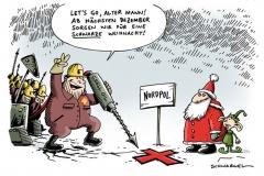 karikatur-schwarwe-shell-oil-nordpol