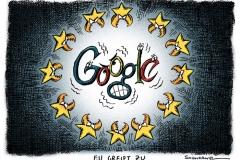 karikatur-schwarwel-europäische union-google