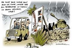 schwarwel-karikatur-syrien-krieg-panzer-waffen-tote