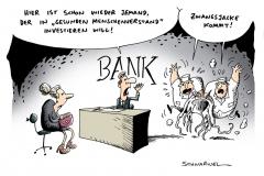 schwarwel-karikatur-investition-bank-euro-krise