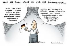 schwarwel-karikatur-einheitsfeier-solidaritätszuschlag-bundesverfassungsgericht-vossberg-ddr-buerger