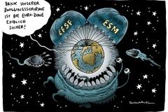 schwarwel- karikatur-efsf-zwillingsschirm-euro-eurobonds
