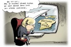 schwarwel-karikatur-merkel-kanzlerin-kontinente-eurozone-waehrung