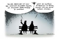 schwarwel-karikatur-obama-autobahn- milliarden-investition