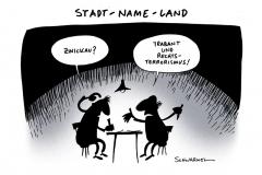schwarwel-karikatur-zwickau-sachsen-polizei-neonazi
