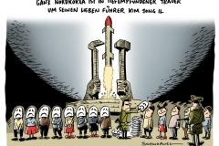 schwarwel-karikatur-korea-nordkorea-trauer-fuehrer