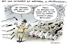 schwarwel-karikatur-fielmann-luftangriff-libyen-nato-wohnviertel-