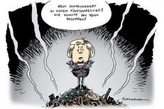 schwarwel-karikatu-merkel-sympathie- whalen-bundestagswahlen