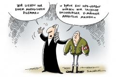 schwarwel-karikatur-dilemma-npd-verbot-vmaenner