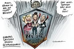 schwarwel-karikatur-aufzug-merkel-sarkozy-monti-geschlossenheit
