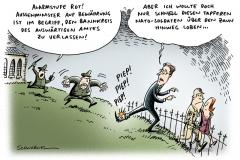 schwarwel-karikatur-guido-aussenminister-fdp-westerwelle