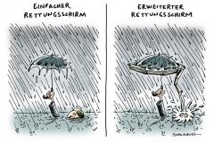 schwarwel-karikatur-schirm-rettungsschirm-euro-bundesregierung