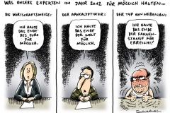 schwarwel-karikatur-experten-meinung-wirtschaftsexperte- euro-waehrung