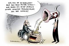 schwarwel-karikatur-schweiz-waehrung-steuer-quellensteuer