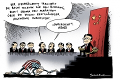 schwarwel-karikatur-bussgang-obama-usa-china-besuch