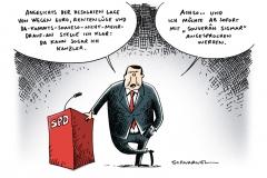 schwarwel-karikatur-spd-kandidatur-kanzler-sigmar-gabriel