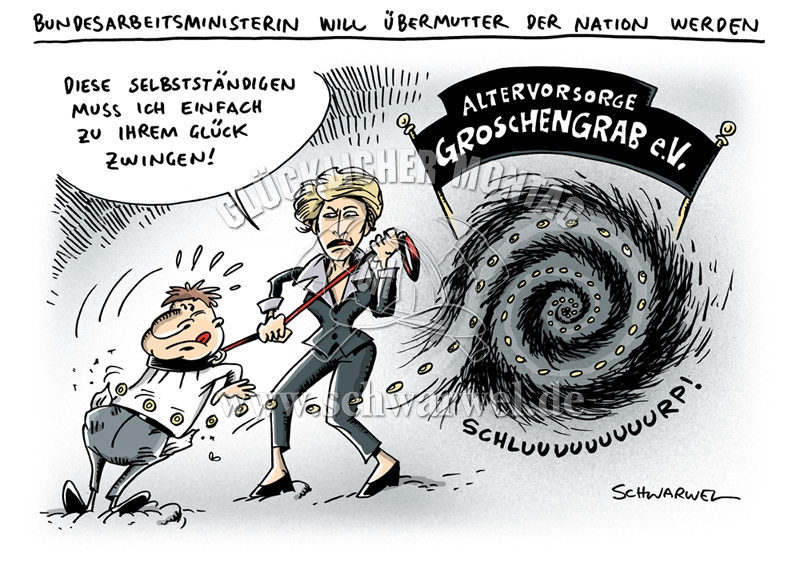 Schwarwel Karikatur