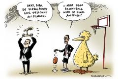 schwarwel-karikatur-basketball-romney-obama-ente