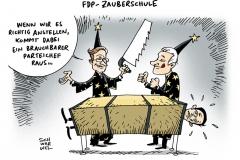 schwarwel-karikatur-fdp-zauberschule-partei