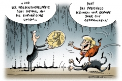 schwarwel-karikatur-nobelpreis-friedensnobelpreis-preisgeld-merkel