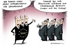 schwarwel-karikatur-troika-schuldenschnitt-griechenland-steuerzahler-oeffentlich