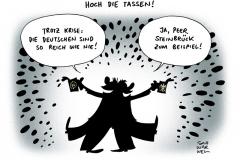 schwarwel-karikatur-reich-deutschland-steinbrueck