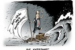 schwarwel-karikatur-kaperfahrt-rot-gruen-koalition