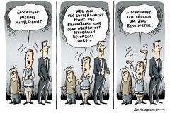 schwarwel-karikatur-mittelschicht-deutschland-schrumpfung