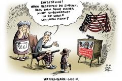 schwarwel-karikatur-amok-waffengesetz-usa-narr