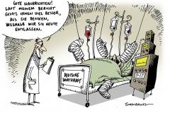 schwarwel-kaikatur-besser-wirtschaft-krankheit-krankenhaus