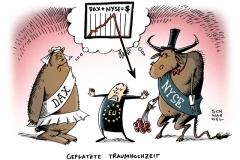 schwarwel-karikatur-dax-nyse-eu-traumhochzeit
