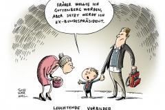 schwarwel-karikatur-guttenberg-vorbild-wulff-ehrensol