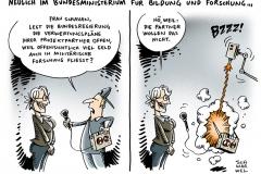 schwarwel-karikatur-schavan-bildungsministerin-sicherheitsforschung