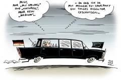 schwarwel-karikatur-eigentor-sparpakt-fiskalpaket-eu