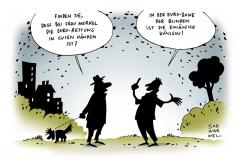 schwarwel-karikatur-blind-einaeugig-koenigin