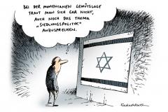 schwarwel-karikatur-israel-siedlungspolitik