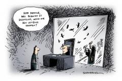 schwarwel-karikatur-leitzins-senkung-banken