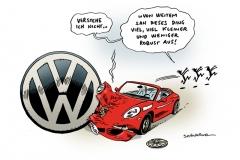 schwarwel-karikatur-porsche-vw-uebernahme-auto