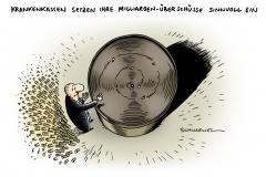 schwarwel-karikatur-kasse-krankenkasse-milliarden