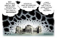 schwarwel-karikatur-regieren-fiskalpakt-olympische spiele-oeffentlichkeit