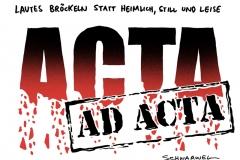 schwarwel-karikatur-acta adacta-unterzeichnung-schwebe
