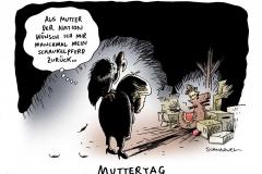 schwarwel-karikatur-mutter-muttertag-merkel