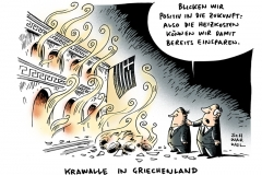 schwarwel-karikatur-krawalle-griechenland-sparkurs-proteste-einsparung
