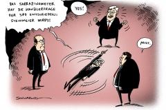 schwarwel-karikatur-spd-kanzlerfrage-sarrazin-steinmeier